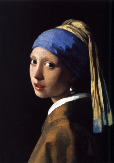 Girl with a Pearl Earring (ca. 1665) by Johannes Vermeer Photo Credit: Wikopedia
